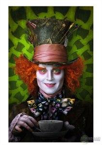 Depp in Tim Burton Alice