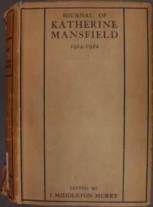 Journal of Katherine Mansfield