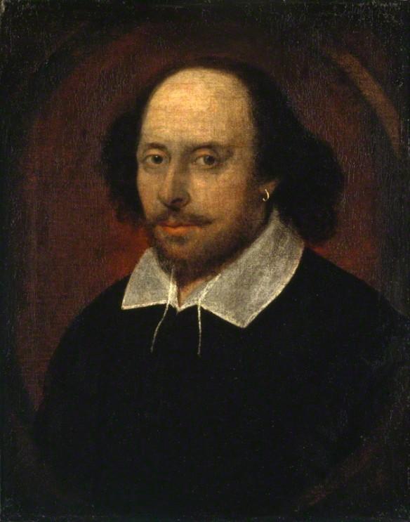 William Shakespeare Chandos portrait